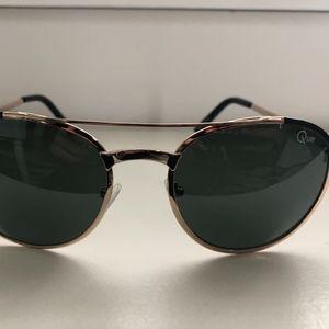 Quay Australia Circle Gold/Tortoise Sunglasses
